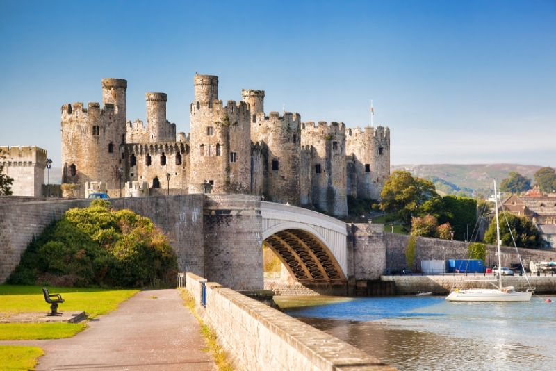 Conwy Castle, Wales - best castles in Europe