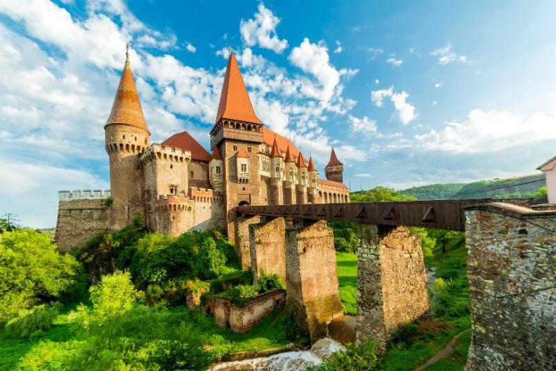 Corvin Castle, Romania - best castles in Europe