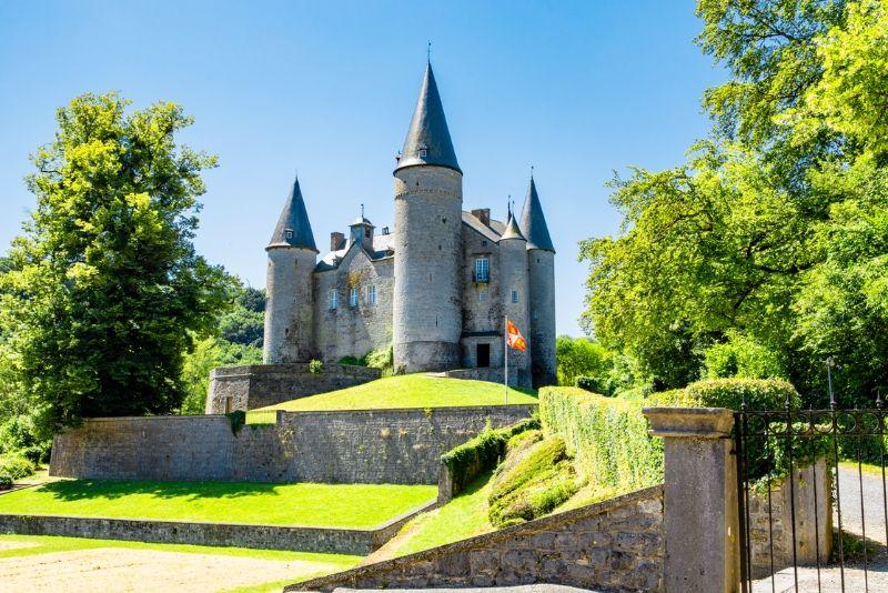 Choses à faire en Belgique #33 Découvrez le Château de Vêves conte dans un conte de fée