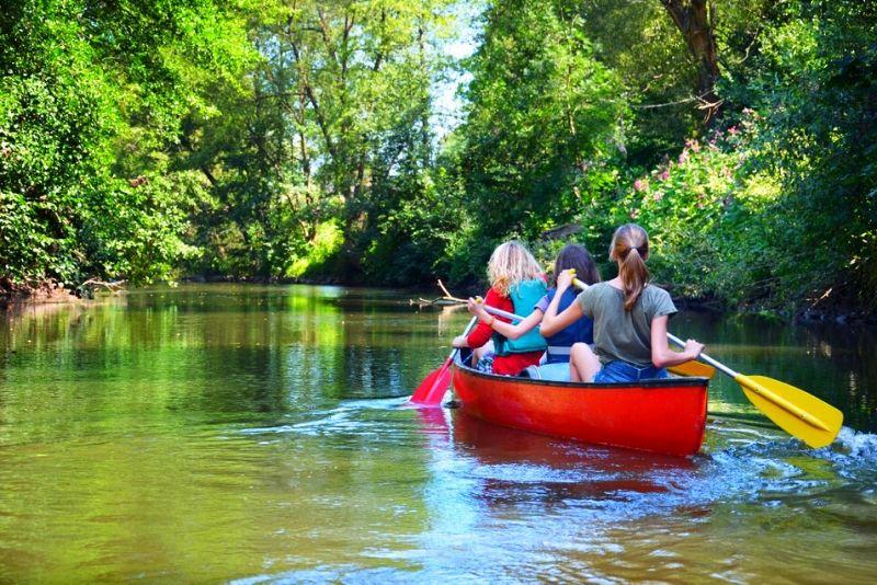Choses à faire en Belgique #25 Descente de la lesse en Kayak