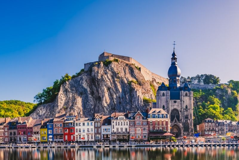 Dinant Citadel, Belgium - best castles in Europe