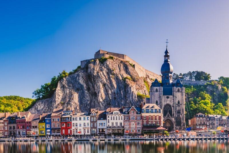 Dinant Citadel, Belgium - best castles in Europe