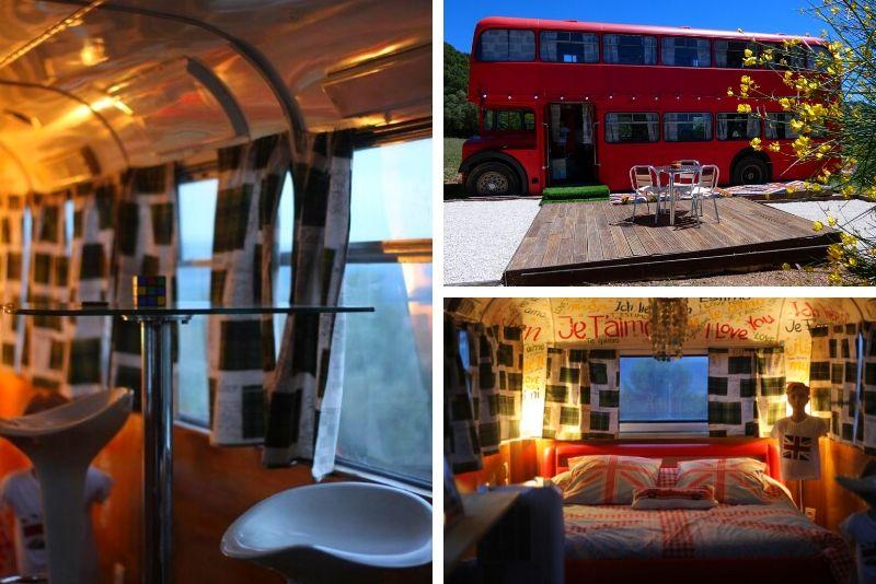Offrez vous une expérience insolite dans un bus- #40 Hébergements insolites en France