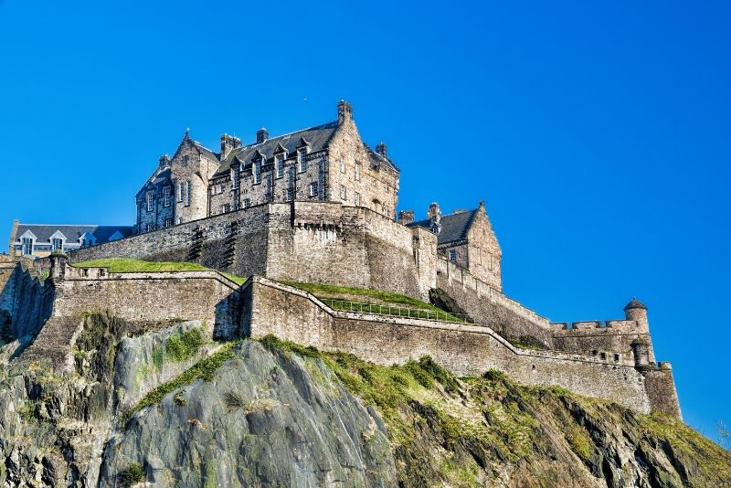 Edinburgh Castle, Scotland - best castles in Europe