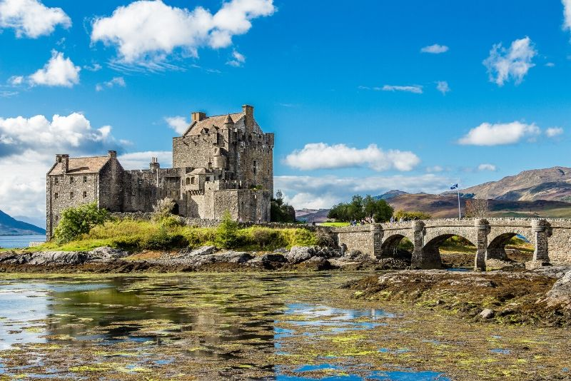 Eilean Donan, Scotland - best castles in Europe