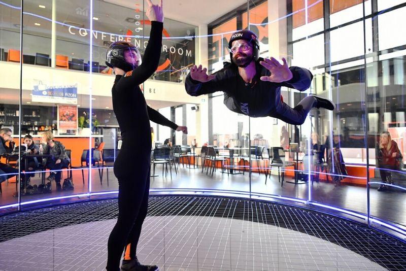 Choses à faire en Belgique #21 Faites une simulation de chute libre en intérieur à Liège