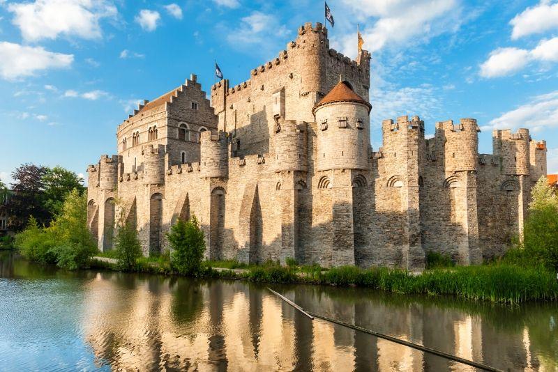 Gravensteen Castle, Belgium - best castles in Europe