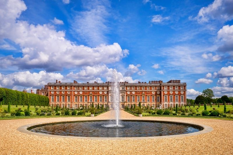 Hampton Court Palace, England - best castles in Europe
