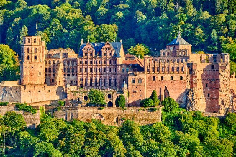 Heidelberg Palace, Germany - best castles in Europe