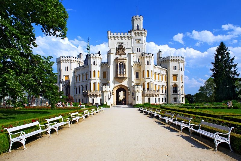 Hluboká nad Vltavou Castle, Czech Republic - best castles in Europe