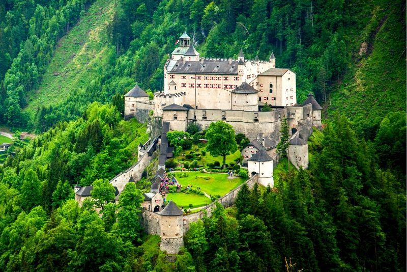 Hohenwerfen Castle, Austria - best castles in Europe