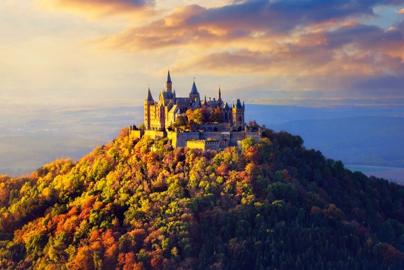 Hohenzollern Castle, Germany - best castles in Europe