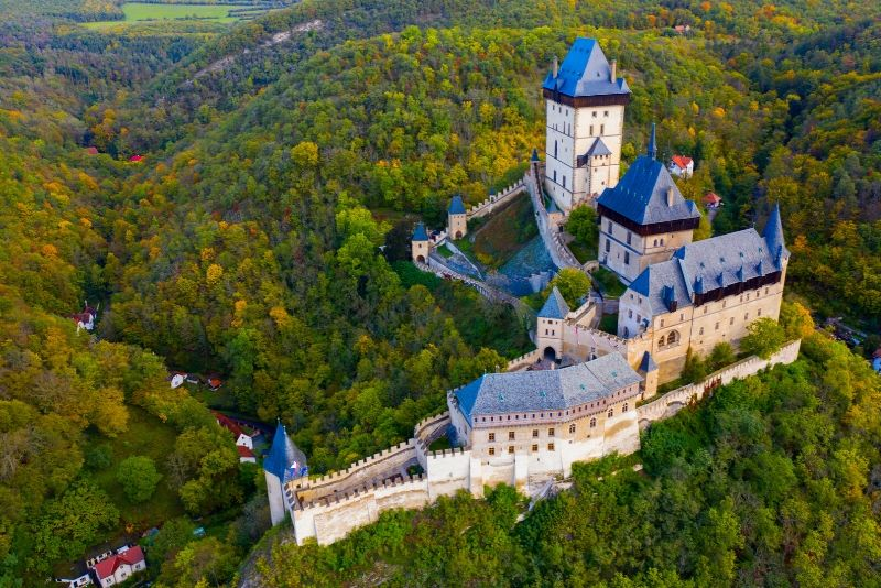 Karlštejn Castle, Czech Republic - best castles in Europe