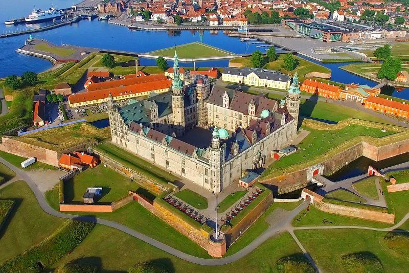 Kronborg Caslte, Denmark - best castles in Europe