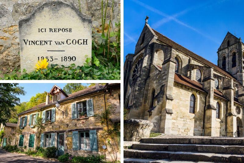 Sorties autour de Paris au village d'Auvers-sur-Oise