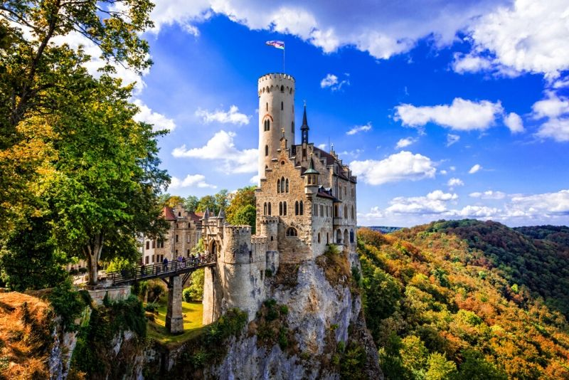 Lichtenstein Castle, Germany - best castles in Europe