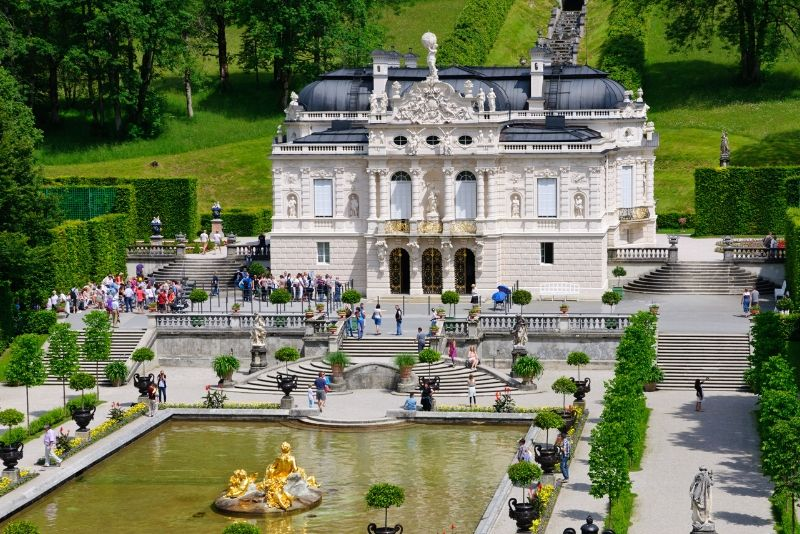 Linderhof Palace, Germany - best castles in Europe