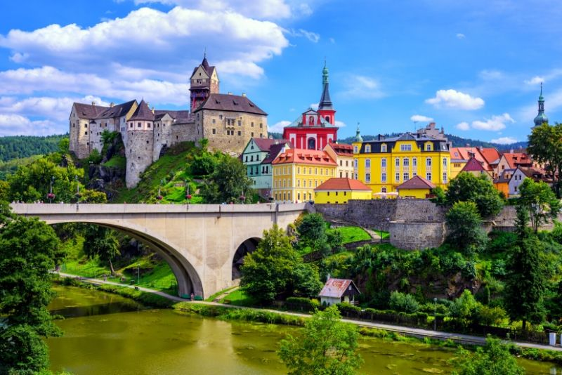 Loket Castle, Czech Republic - best castles in Europe