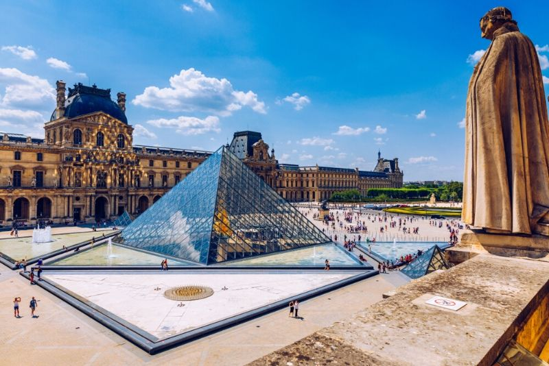 Louvre Palace, France - best castles in Europe