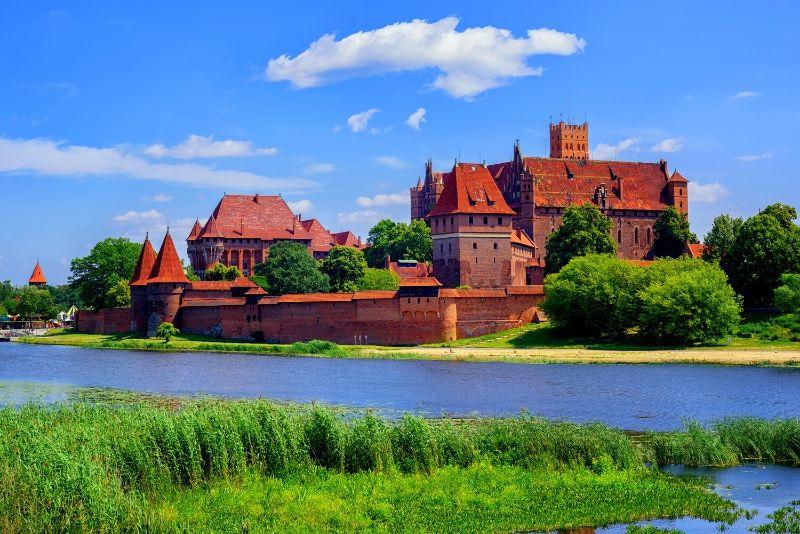 Malbork Castle, Poland - best castles in Europe