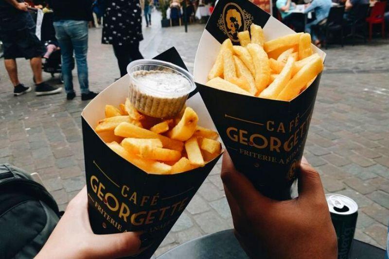 Choses à faire en Belgique #23 Mangez les meilleures frites chez Georgette
