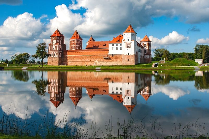 Mir Castle Complex, Belarus - best castles in Europe