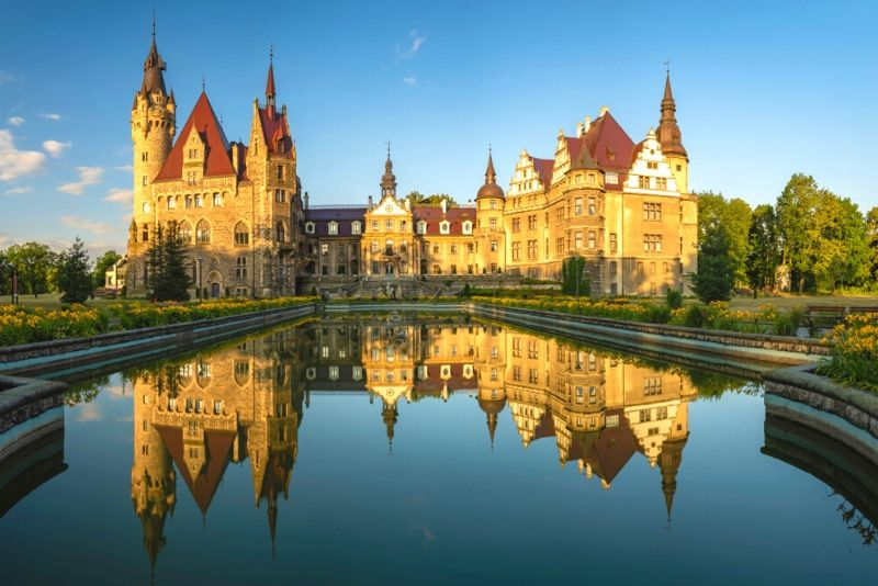 Moszna Castle, Poland - best castles in Poland