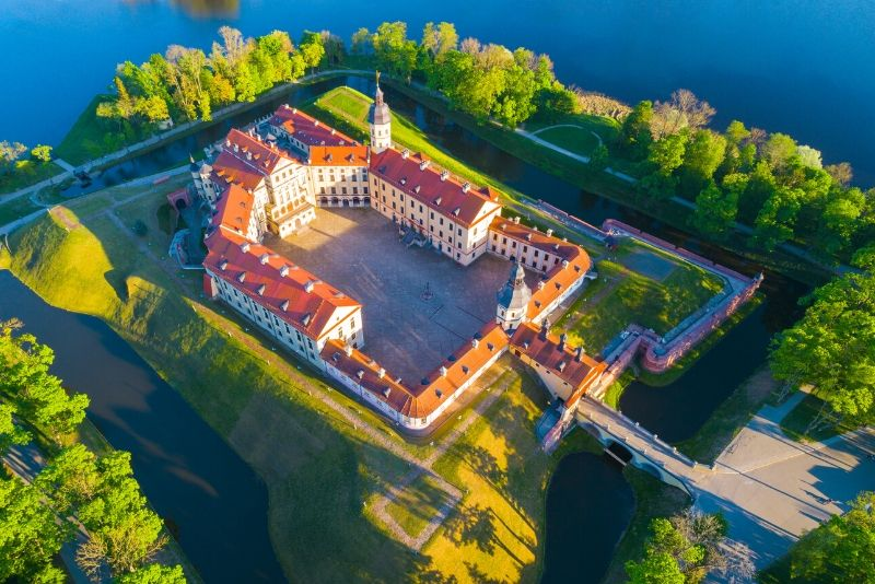 Nesvizh Radziwiłł Castle, Belarus - best castles in Europe