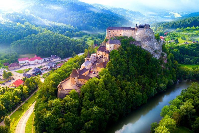 Orava Castle, Slovakia - best castles in Europe
