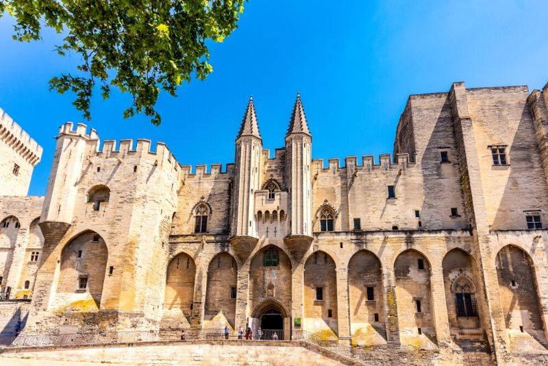 Palace of the Popes, France - best castles in Europe