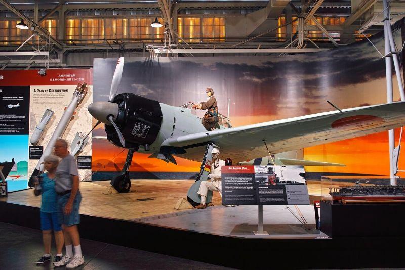 Museo de la aviación de Pearl Harbor