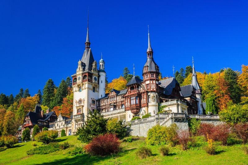 Peleș Castle, Romania - best castles in Europe