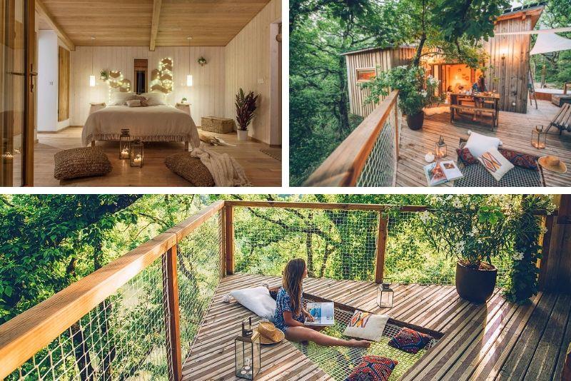 Offrez vous un séjour insolite dans une cabane et spa- #28 Hébergements insolites en France