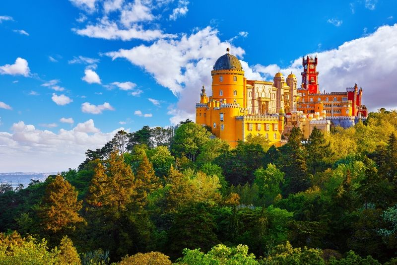 Pena Palace, Portugal - best castles in Europe