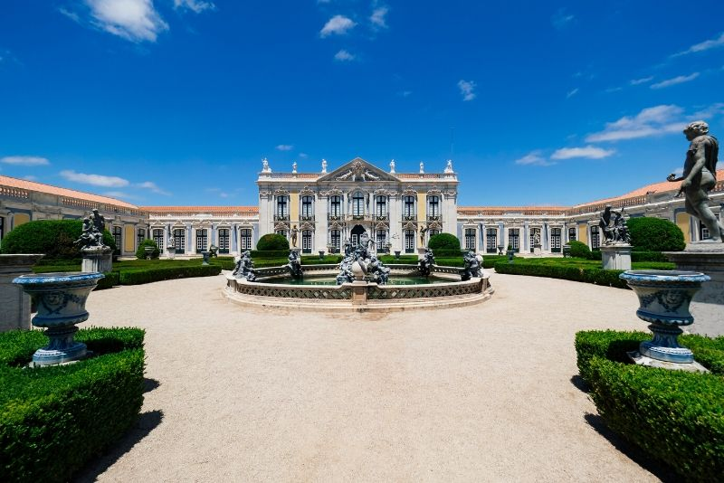 Queluz National Palace, Portugal - best castles in Europe