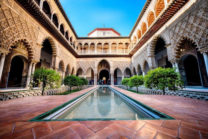 Real Alcazar of Seville, Spain - best castles in Europe