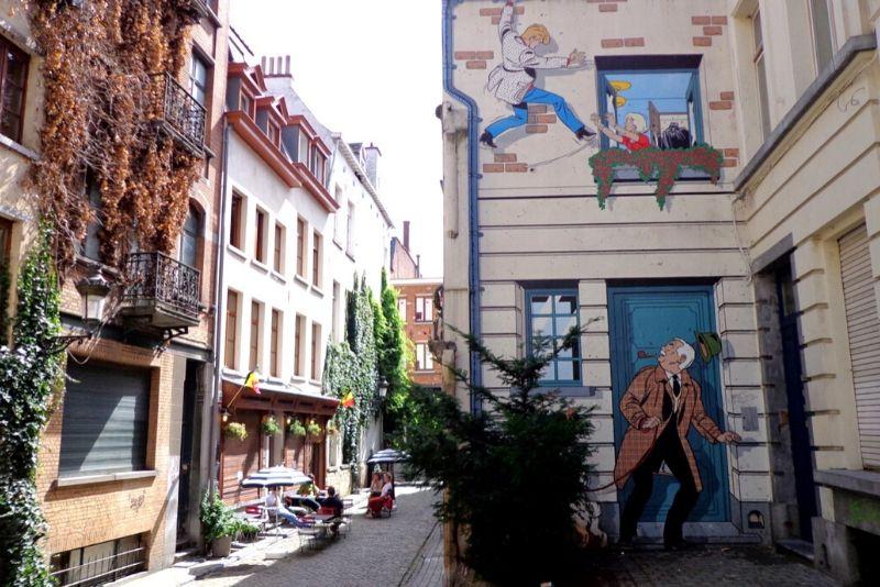 Choses à faire en Belgique #1 Retomber en enfance avec de nombreuses œuvres dans Bruxelles