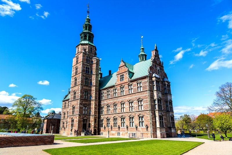 Rosenborg Castle, Denmark - best castles in Europe