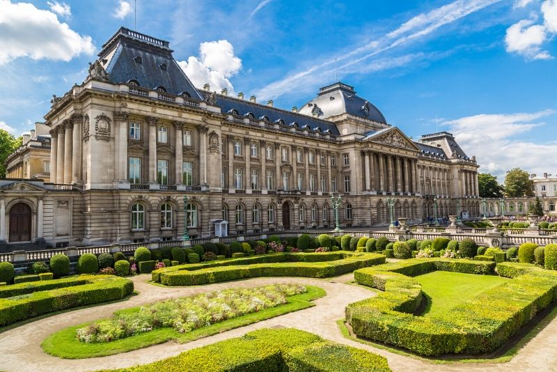 Royal Palace of Brussels, Belgium - best castles in Europe