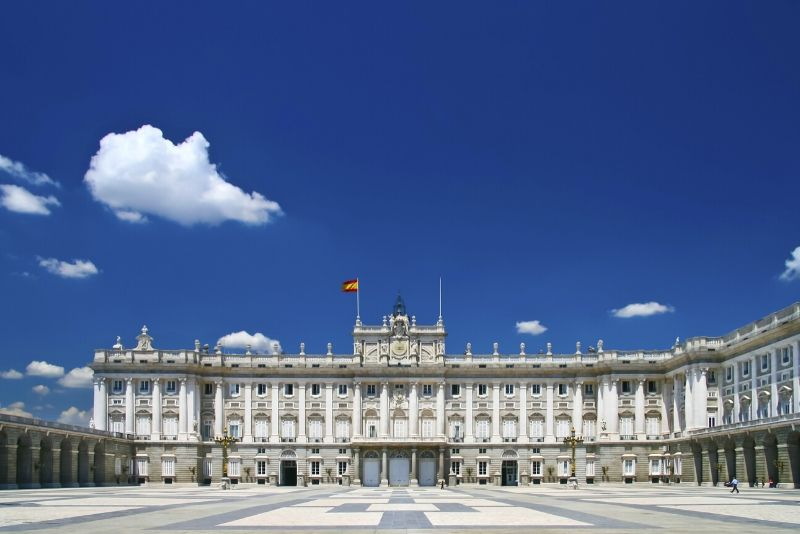Royal Palace of Madrid, Spain - best castles in Europe