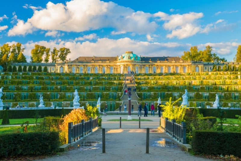 Sanssouci Palace, Germany - best castles in Europe