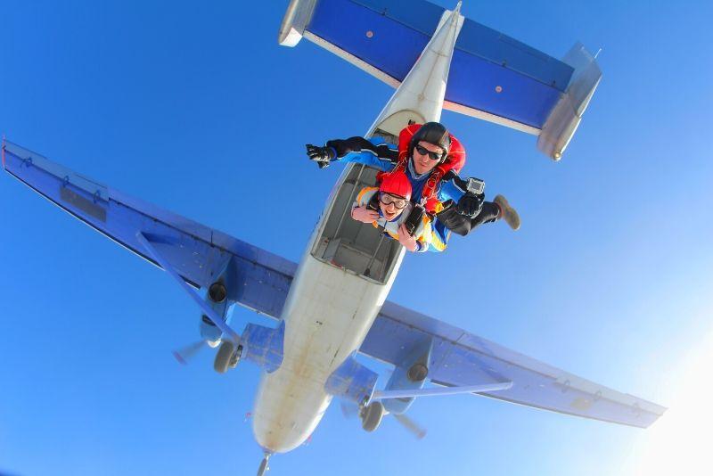 Choses à faire en Belgique #10 Sauter en parachute