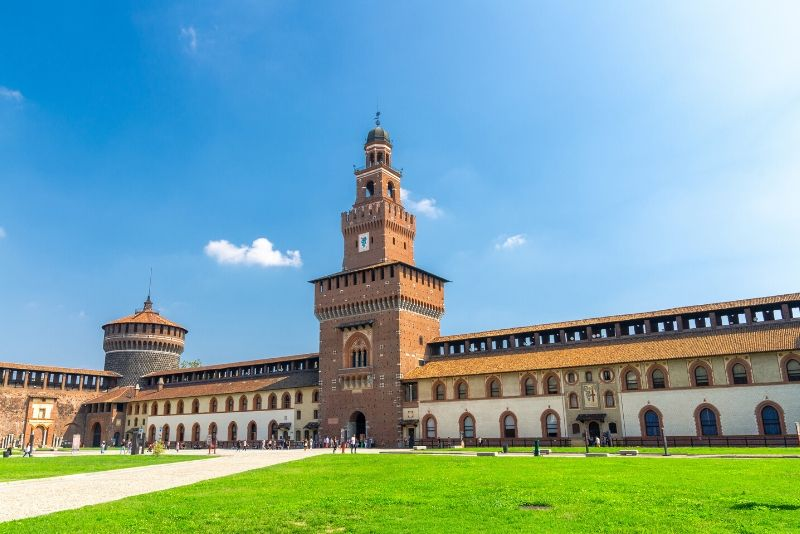 Sforza Castle, Italy - best castles in Europe