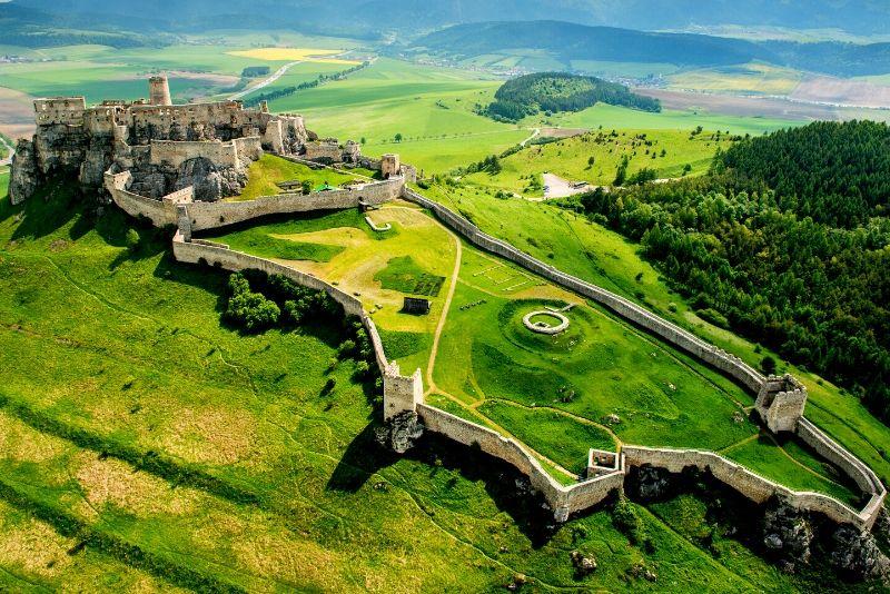 Spiš Castle, Slovakia - best castles in Europe