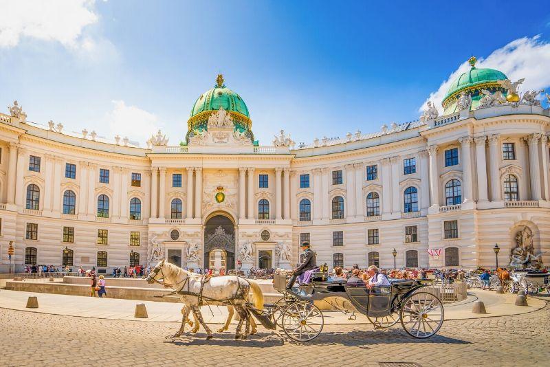 The Hofburg, Austria - best castles in Europe