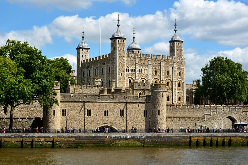 Tower of London, England - best castles in Europe