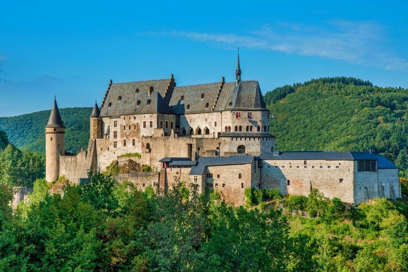 Vianden Castle, Luxemburg - best castles in Europe