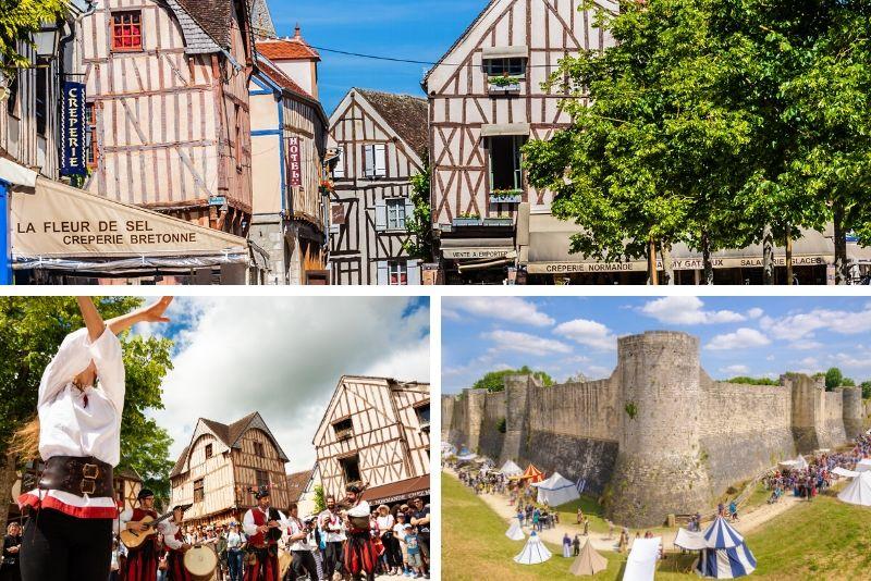 Sorties autour de Paris au village médiévale de Provins