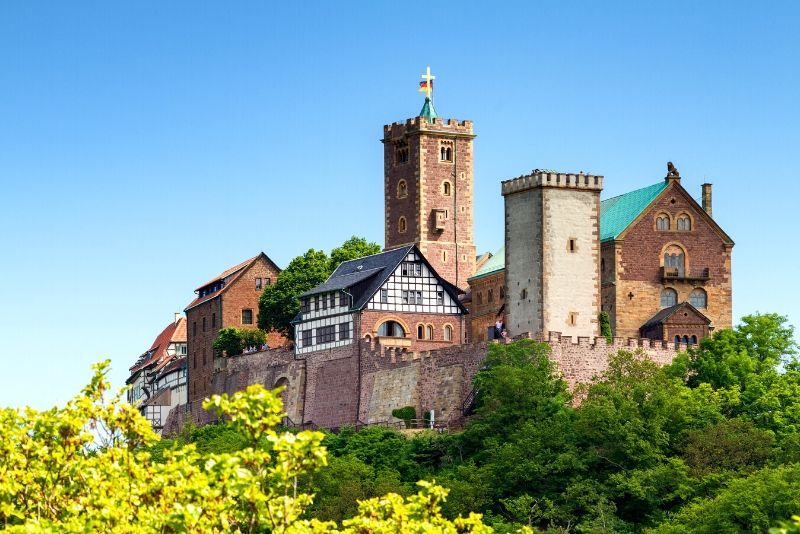 Wartburg Castle, Germany - best castles in Europe