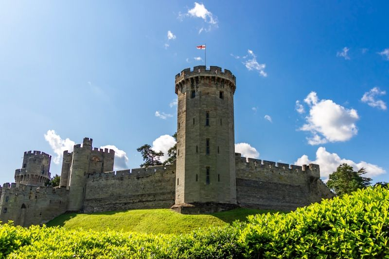 Warwick Castle, England - best castles in Europe